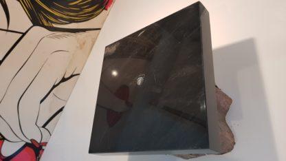 Sokkel Voetstuk Zwart marmer vierkant