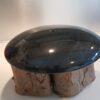 Sokkels - Voetstuk sokkel zwart marmer rond 27cm