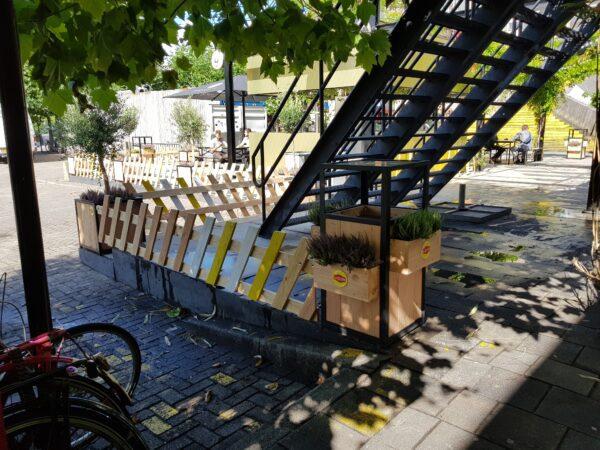 Stalen prullenbakken - Project Annabel