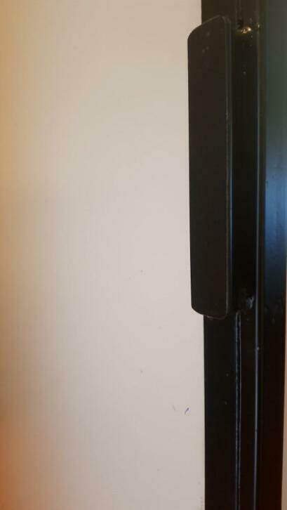 Stalen loftdeur Arkwright mat glas detail