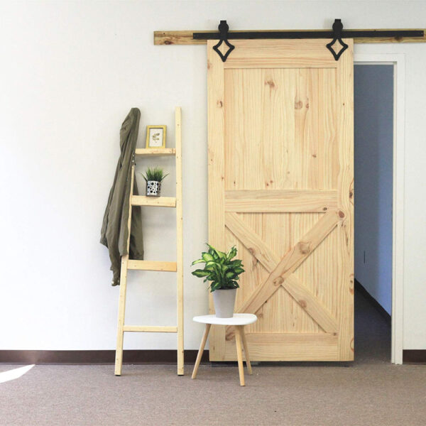 Stalen Schuifdeur systemen-zwart-staal-diamand-set-loftdeur-rail-wiel
