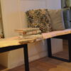 Boomstam tafel bank Woodworm Premium
