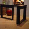 Stalen frame of onderstel salontafel bank