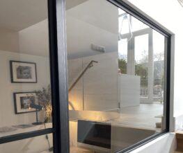 Stalen deuren - stalen opdekdeur stalen raam of wand maatwerk
