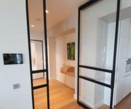 Stalen deuren - stalen taatsdeur met wand
