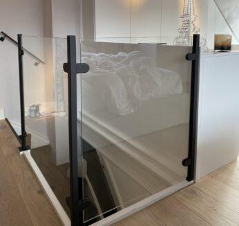 Stalen Glas Trapleuning Balustrade